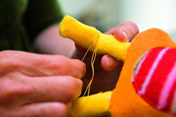How do I make a soft toy?