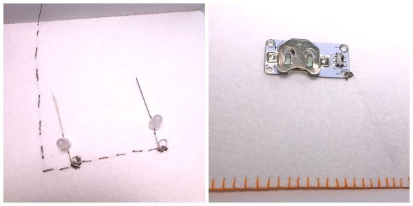 Making a circuit with e-textiles