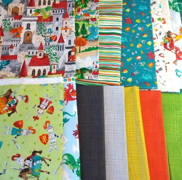 Fabrics for baby projects