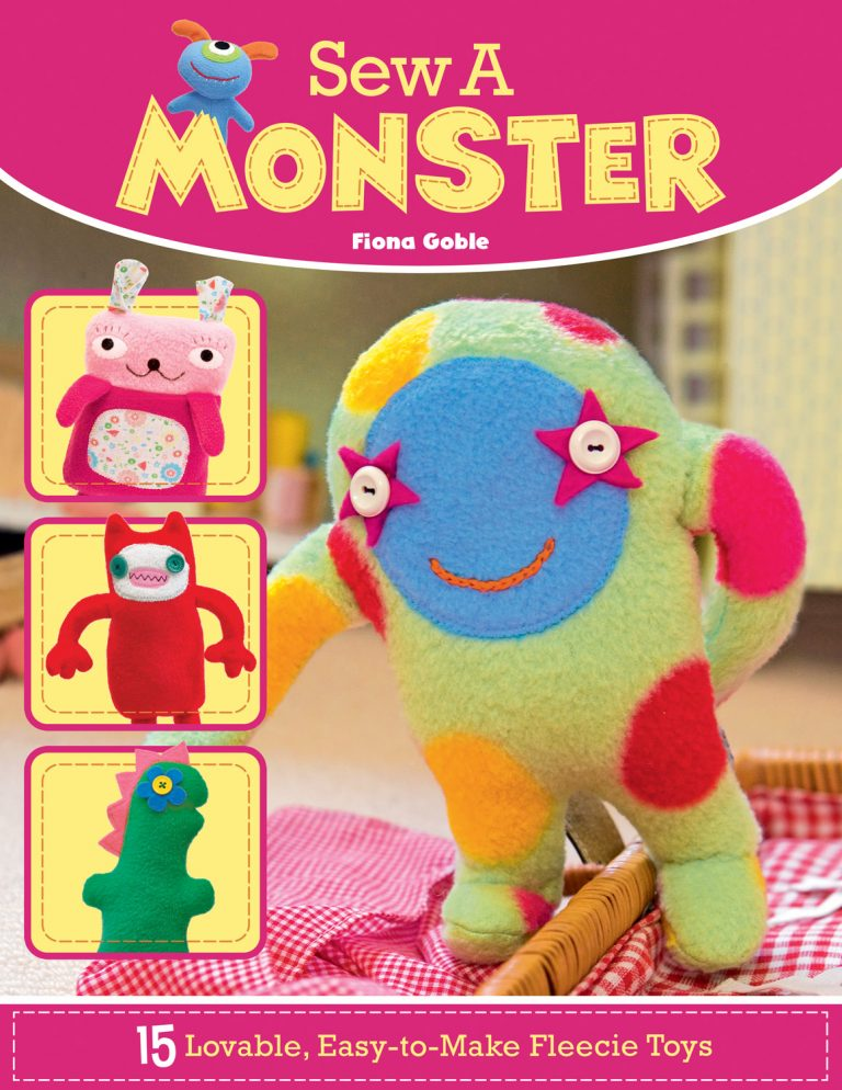 Sew a Monster book