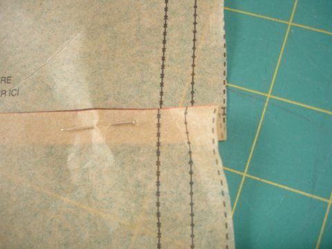 Altering a sewing pattern to ensure a good fit