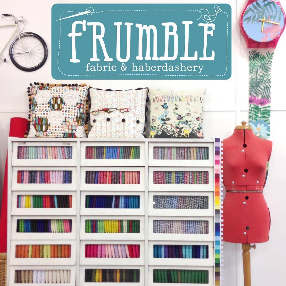 Haberdashery supplies online at Frumble