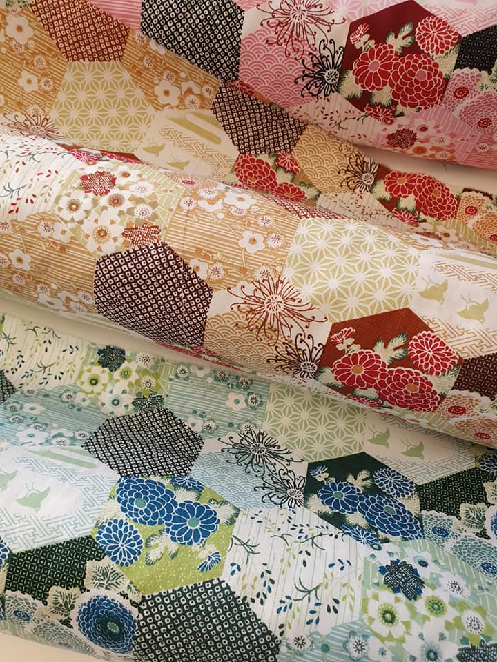 Patchwork fabrics from Craftswoman Fabric