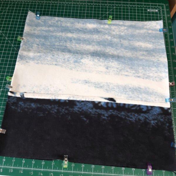 Envelope back cushion tutorial