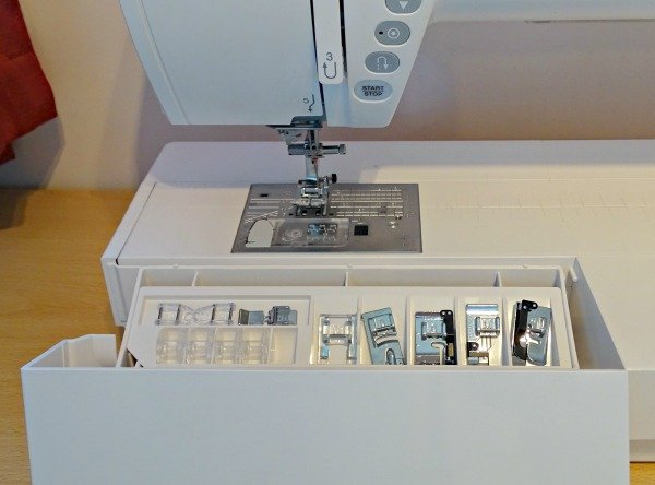Domestic long arm quilt machine from Janome