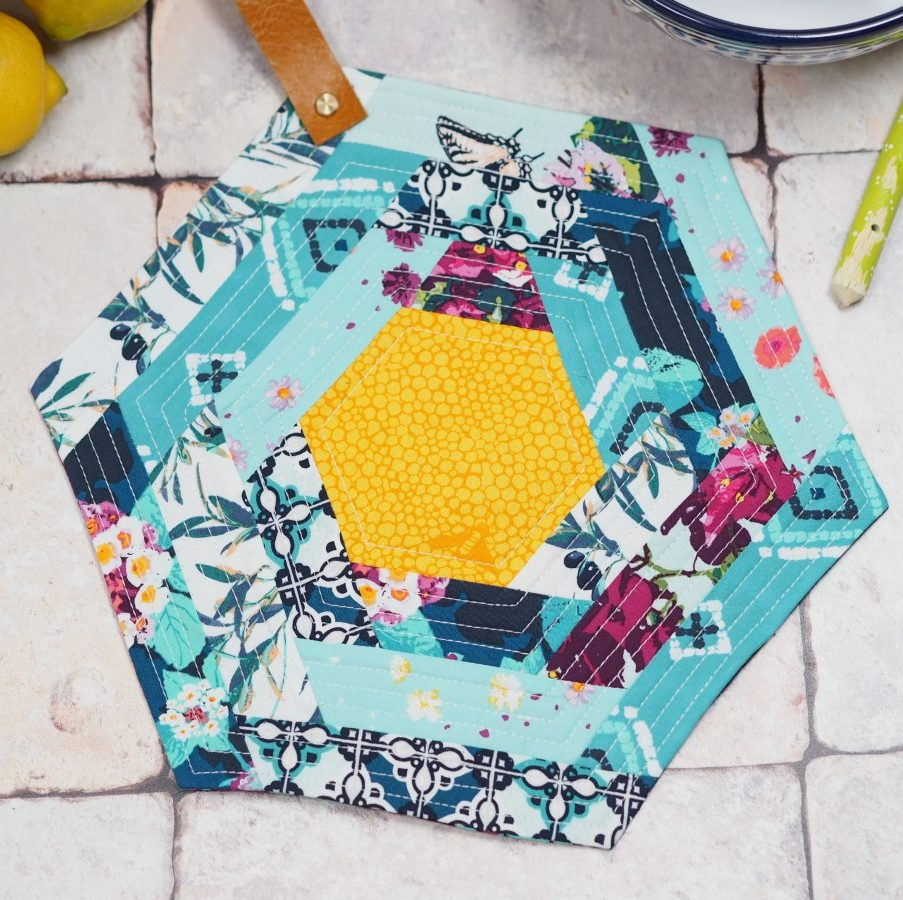 Hexie Potholder Project