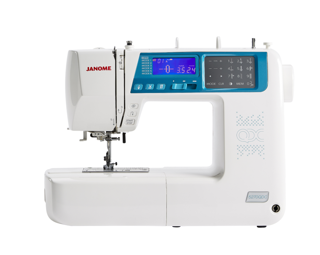 Janome sewing and quilting machine