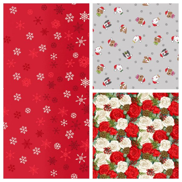 Makower Christmas fabrics 2021