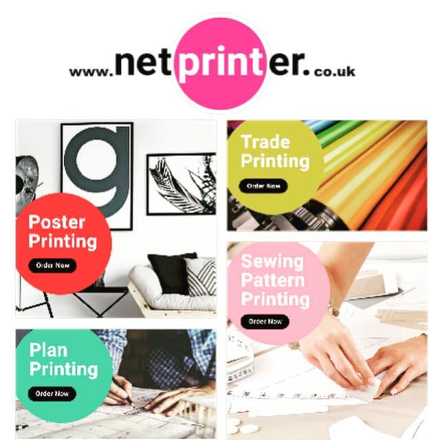 Netprinter sewing pattern printing service