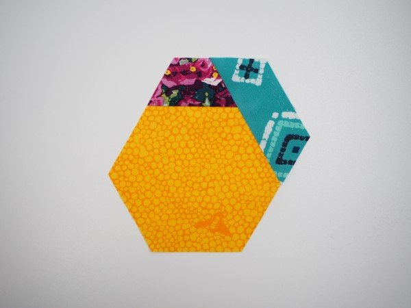 Adding strips to hexies