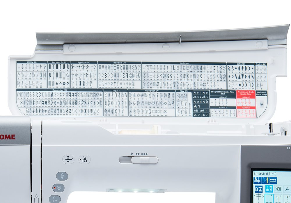 Guide to sewing machine stitches