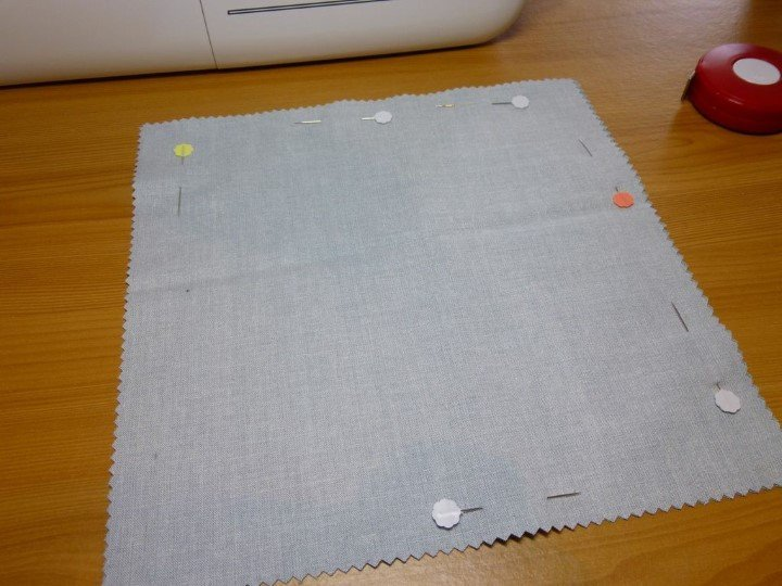 How to sew a wheat bag