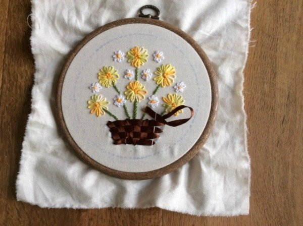 Series on hand embroidery