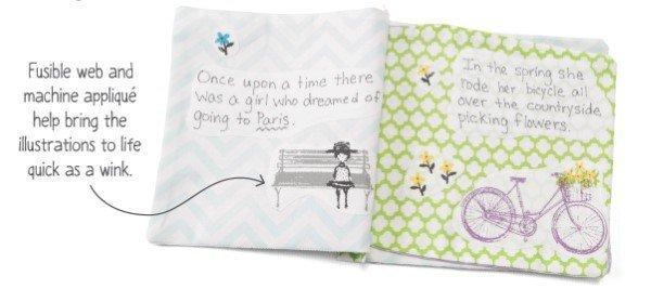 Sew a fabric book