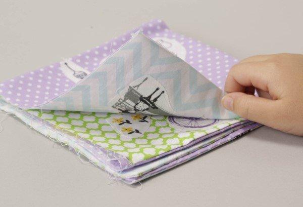 Sew a cloth book