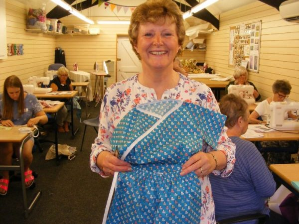 Sewing Fairies charity sewing
