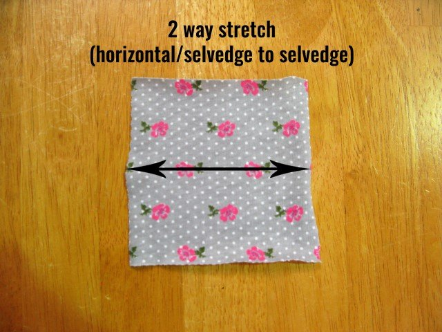 2-way stretch fabric