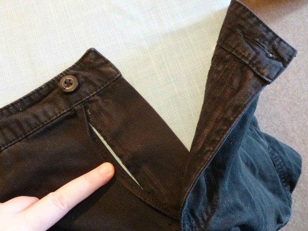 Install a new trouser zip