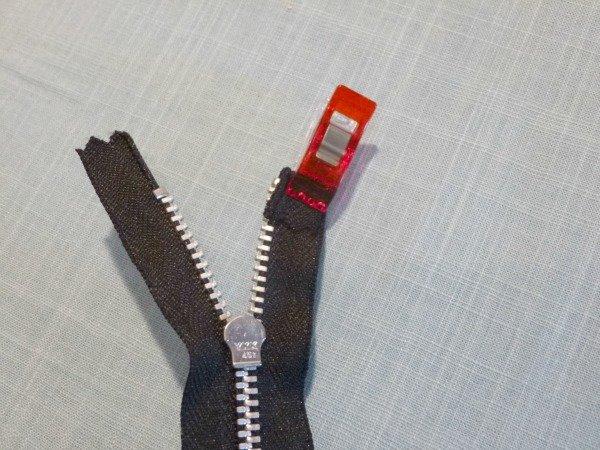 Trouser zip replacement