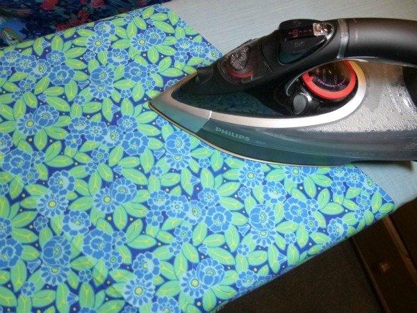 Pressing fabrics