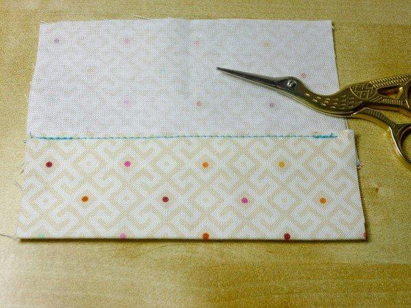 Folding a hem