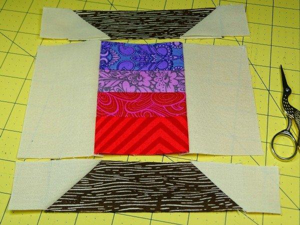Thread reel quilt block
