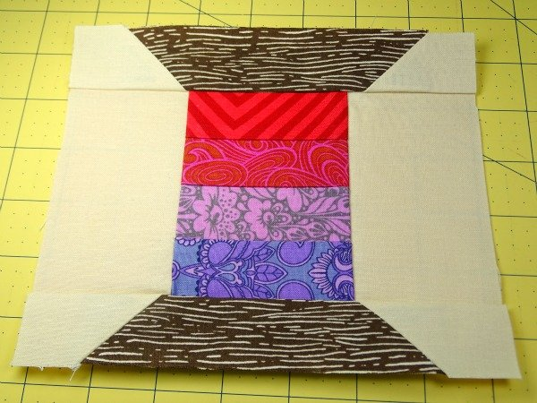 Thread spool quilt block