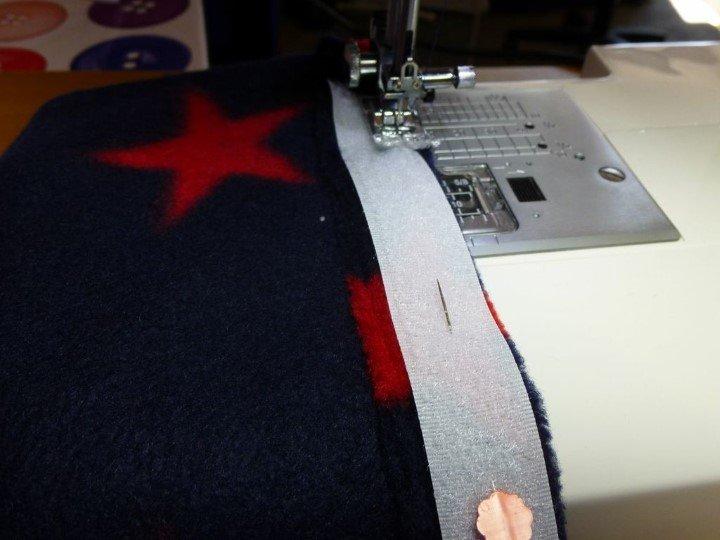 Velcro fastening tutorial