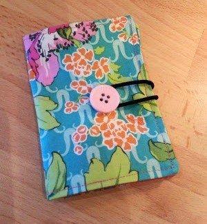 Tea bag holder sewing tutorial