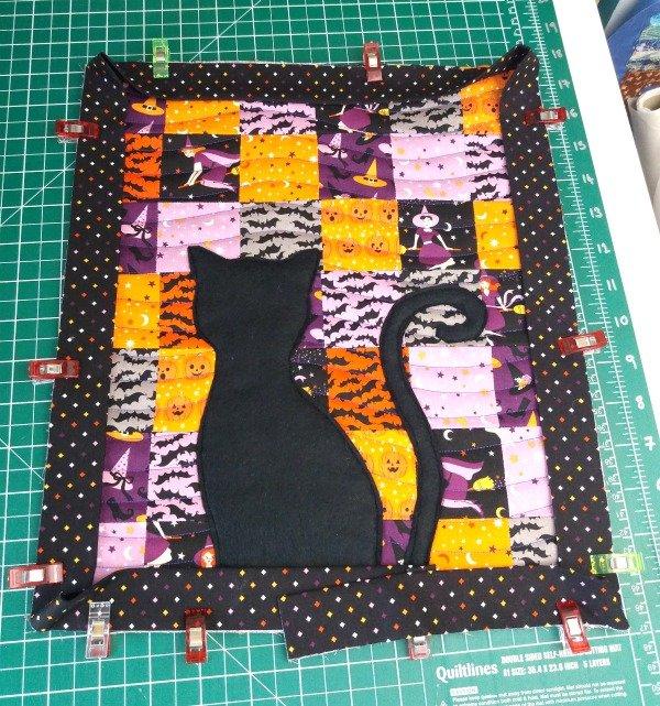How to sew single fold binding