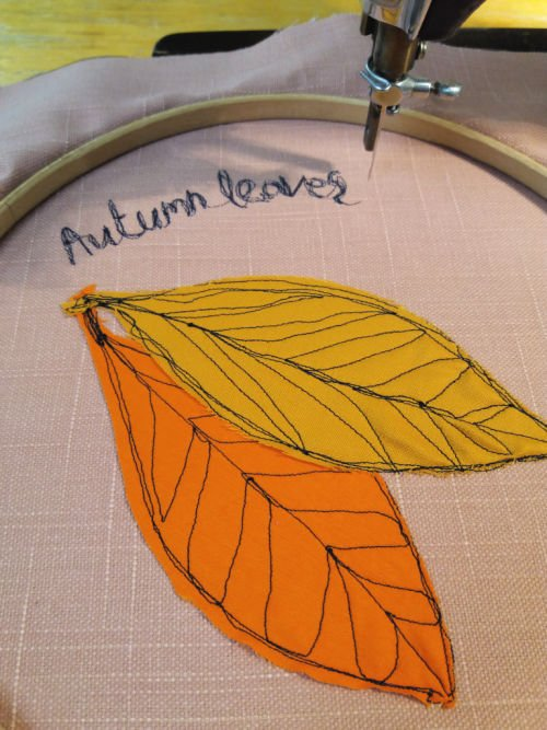Writing with your sewing machine