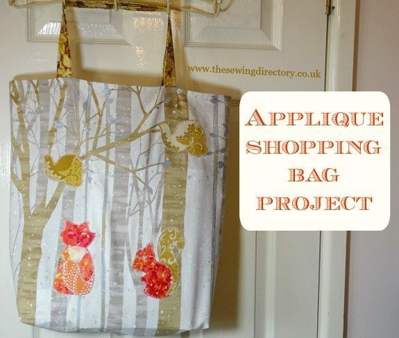 Sew a shopping tote bag
