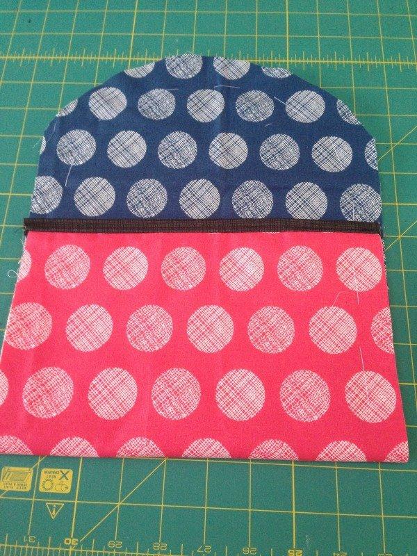 Sew a simple clutch bag