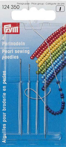 Very fine beading needles