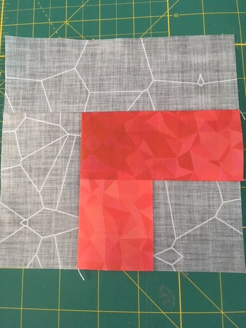 Quilt blocks from jelly rolls