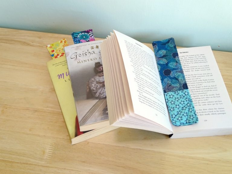 Sew a simple bookmark