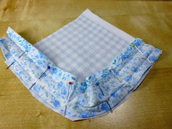 How to bind a hem