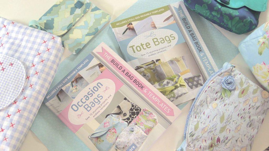Beginner's bag making books from Debbie Shore
