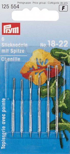 Which hand sewing needle do I need?