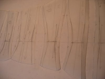 Corsetry patterns