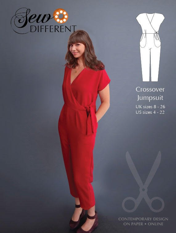 Crossover jumpsuit from Sew Differnt