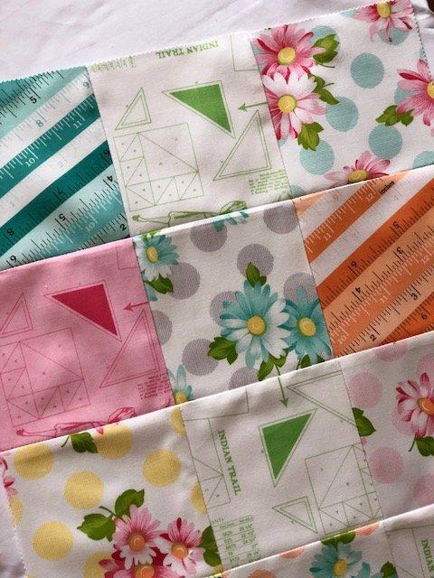 Sew charm squares