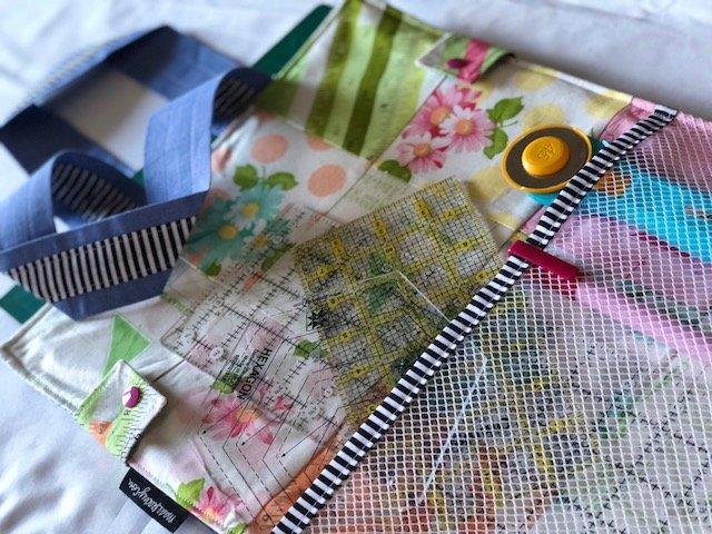 Make a bag to store a cutting mat