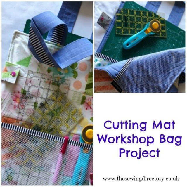 Cutting mat travel bag seiwng project