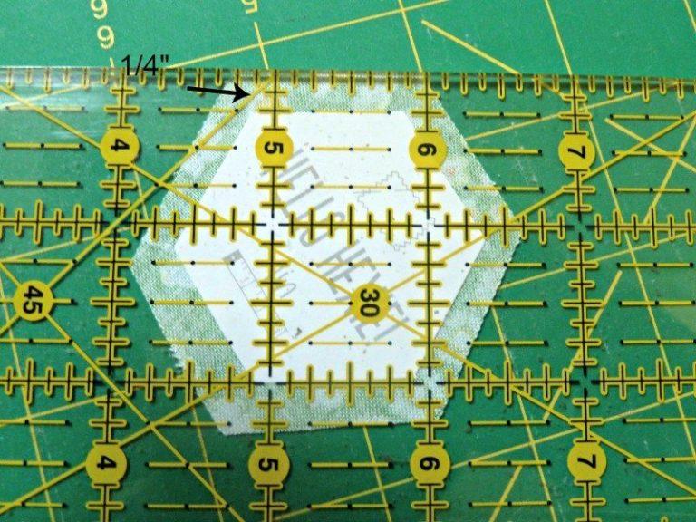 Hand sewn patchwork