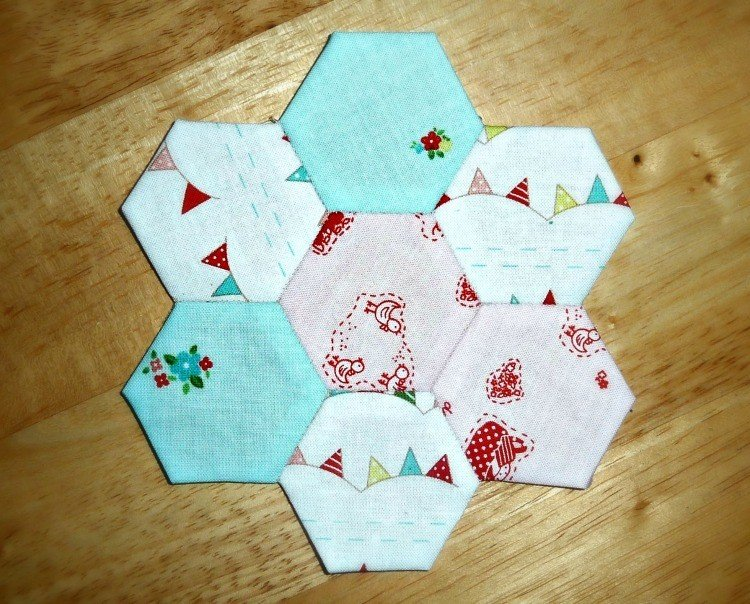 Simple hand patchwork