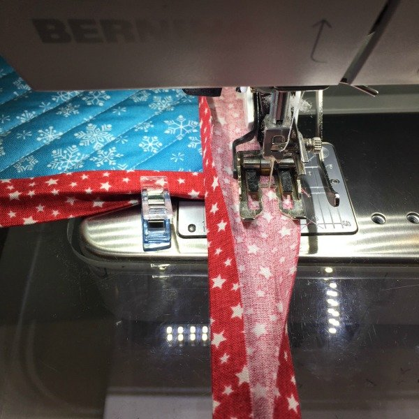 Tips on how to bind a quilt