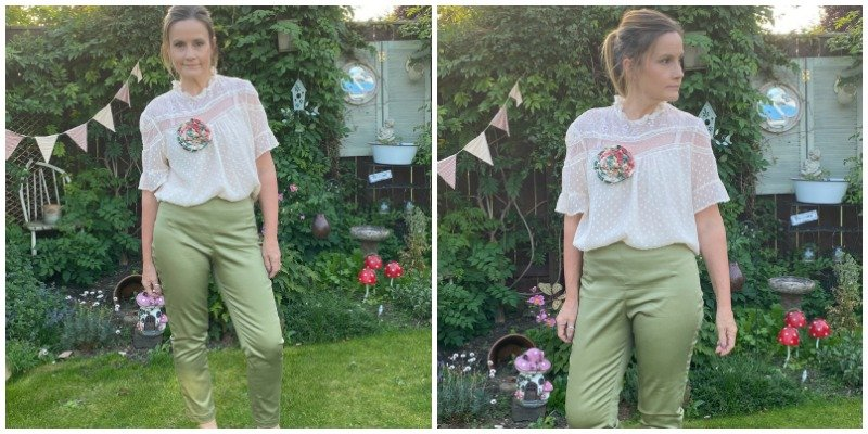 Cigarette trousers sewing pattern
