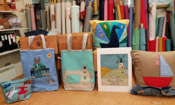 Sewing workshops in Cornwall
