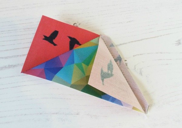 Construct a flying goose block